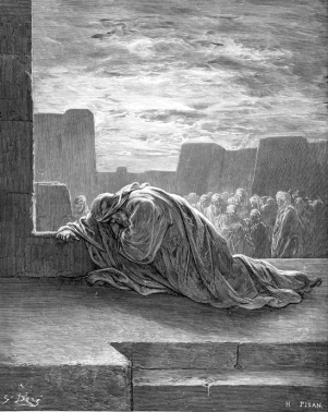 Ezra in Prayer - Gustave Dore