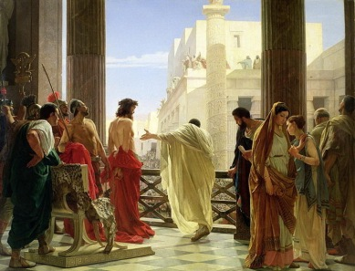 "Ecce Homo (""Behold the Man""),  by Antonio Ciseri"