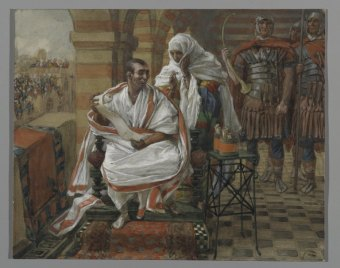 The Message of Pilate's Wife, by James Tissot