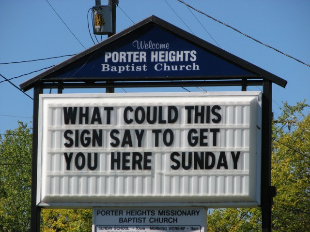 church-signs