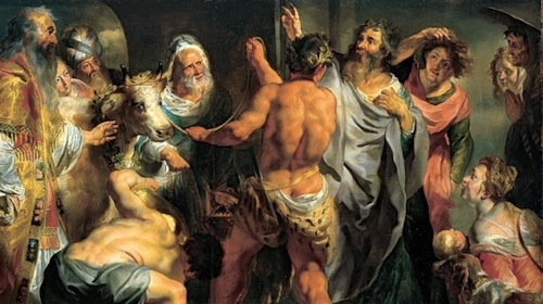 Paul-Barnabas-Arguing