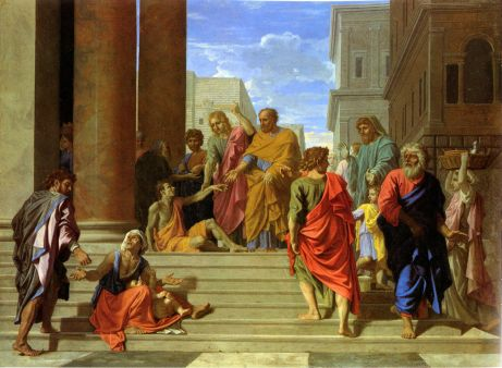 Peter and John Healing the Lame ManNicolas Poussin